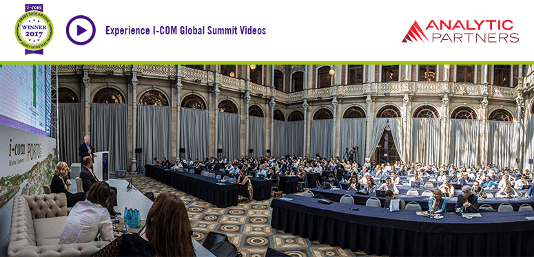 Analytic Partners videos from I-Com Global Summit 2017